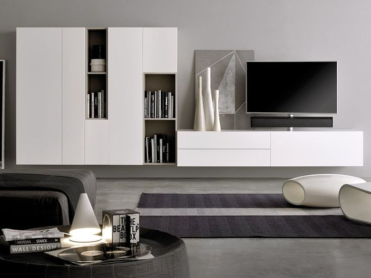 GRAPHOS WIDE Storage wall Graphos Wide Collection by Silenia