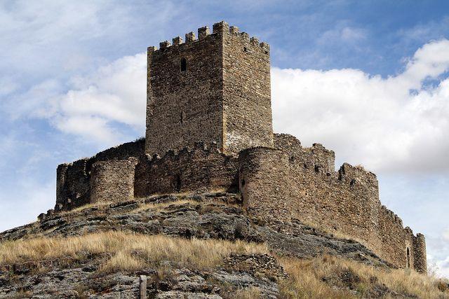 Castillo de  Magaña  (Soria)