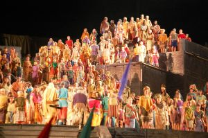 Hill Cumorah Cast at Hill Cumorah Pageant in Palmyra, NY