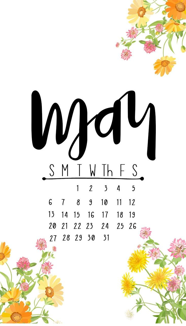 May 2018 Free Pdf Magazine Download: Beautiful May 2018 IPhone Calendar Wallpapers