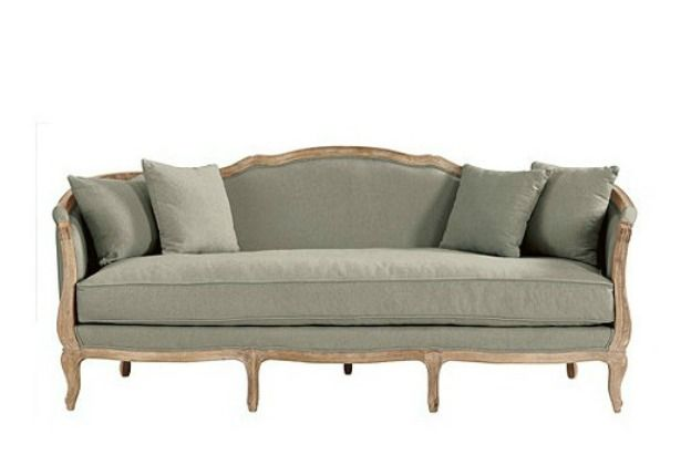 Country French Style Sofa Country Style Sofas French Style Sofa