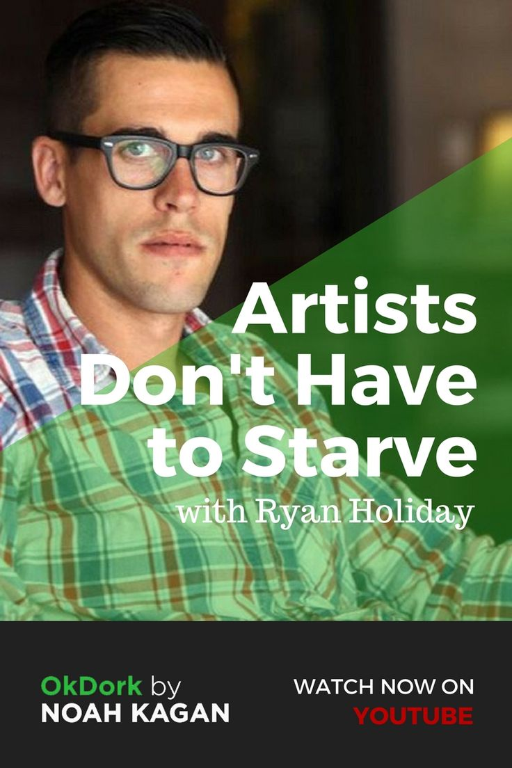 Artists don't have to starve with Ryan Holiday