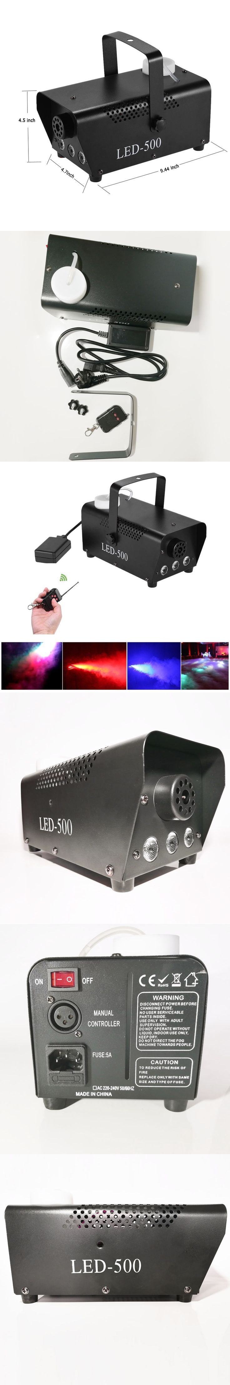 400w stage smoke machine cold smoker generator dmx fog machine for halloween stage party effect with remote control AC110-240V