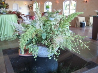 Fall event at Trentadue.  Floral design by Dragonfly Floral