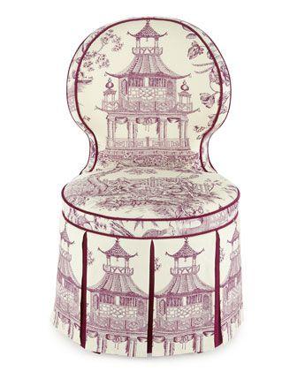 "master bath vanity chair. 21 w x 22.5 d x 37 h. Seat = 18"" tall."