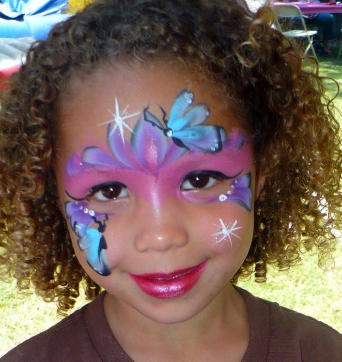 332 Best Images About Face Painting Butterflies Amp Faries