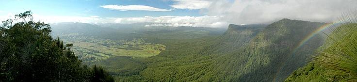 Border Ranges National Park, 13-14 April.