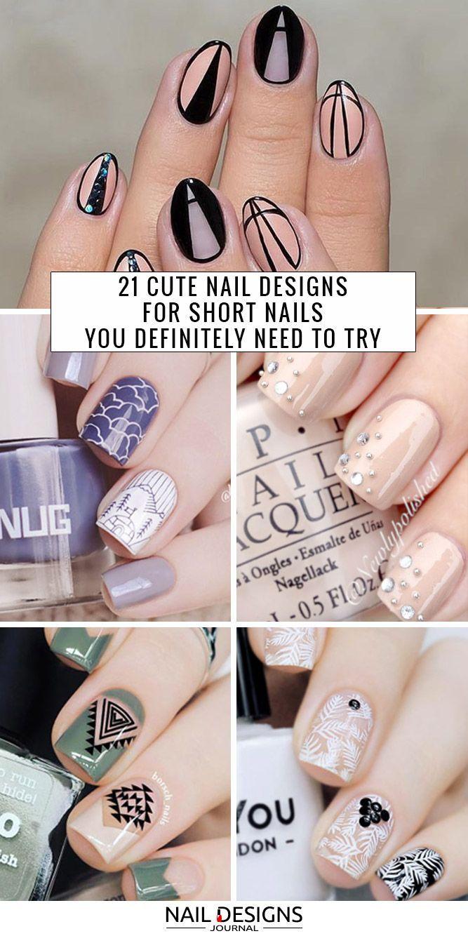 7020 besten Short Nail Art Bilder auf Pinterest   Make up, kurze ...