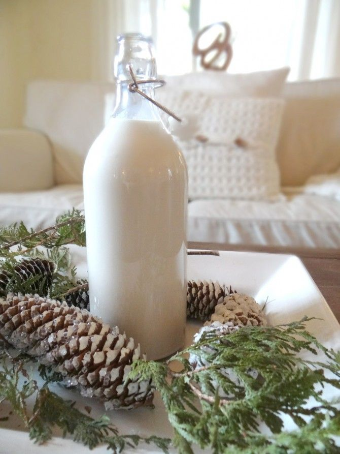 Homemade EASY to make your own Baileys recipe...Fantastic for Christmas gift giving !
