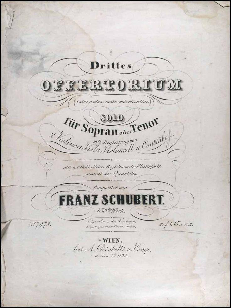 Schubertiade :: Schubert, Franz. (1797-1828)