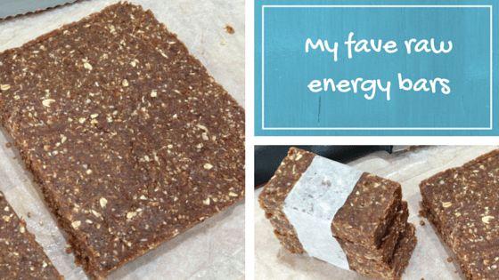 Get my favourite raw energy bar recipe here