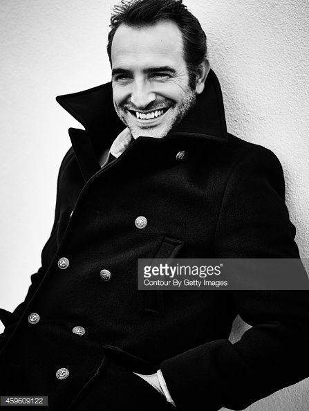 Actor Jean Dujardin is photographed for Self Assignment on October 21, 2014 in Paris, France.