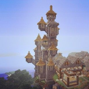 #minecraft #castle http://veterancraft.net Original to VeteranCraft