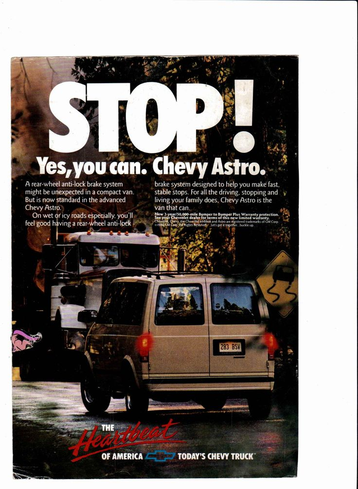 9 best cars ive owned images on pinterest cars motorcycles 1989 chevy astro van ad national geographic january 1989 fandeluxe Image collections