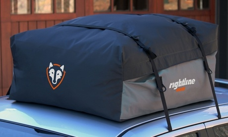 Sport Jr Car Top Carrier, a cargo bag that doesn't require a roof rack. FOUND IT! ($79.95)
