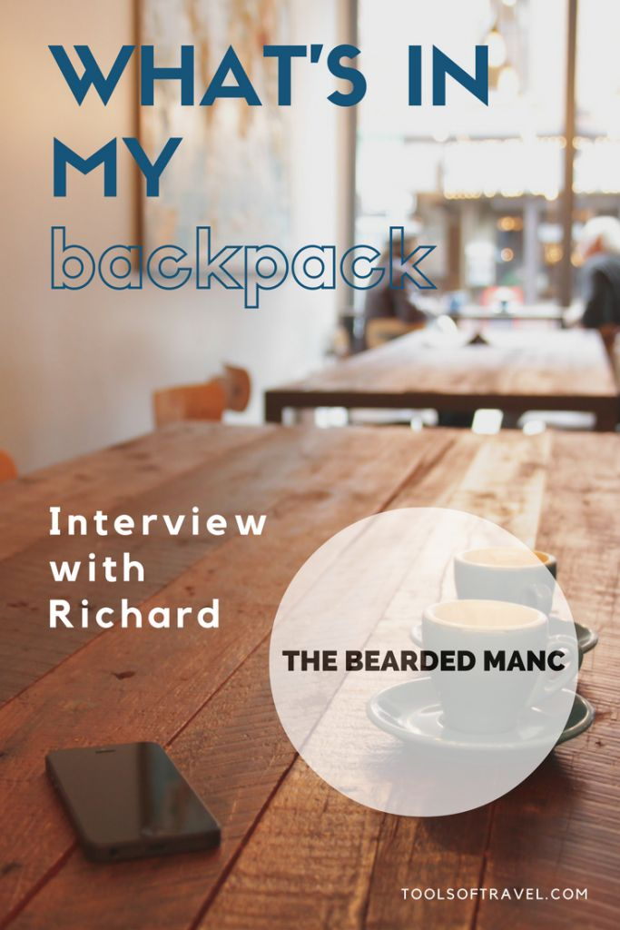 What's in My Backpack: Interview with Richard the Bearded Manc
