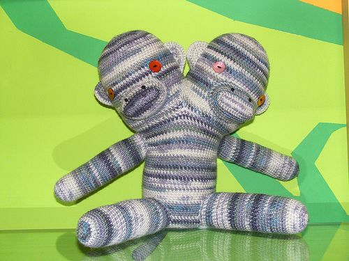 Looking for test crocheters for this two-headed monkey. http://tinyurl.com/m8ncpg4 #yarn #YONY #yarnovernewyork #crochet #monkey #test #design