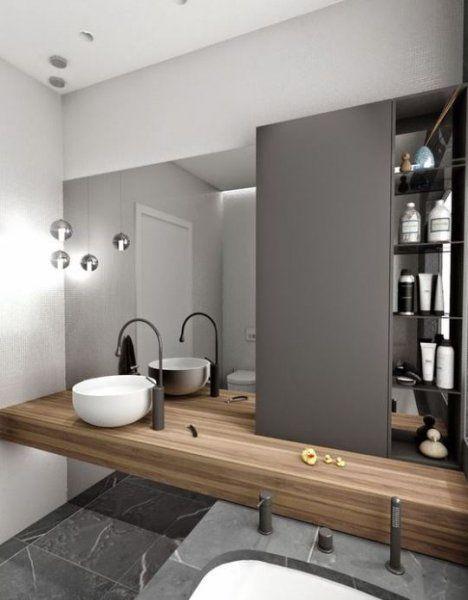 Geleneksel ve modern banyo dekorasyonu - 1. resim