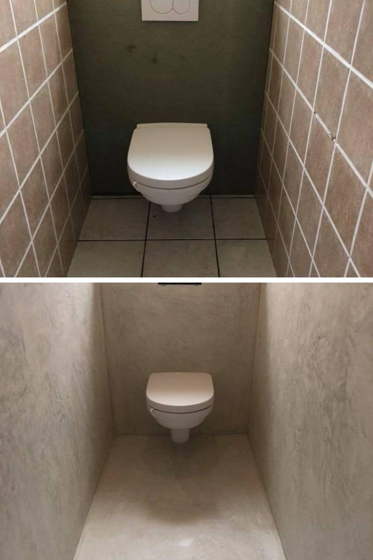 Peut-on appliquer du béton ciré sur un carrelage? | Beton ciré, Relooking salle de bain, Beton ...