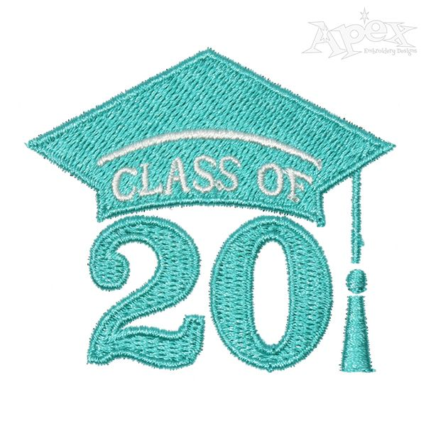 "/""CLASS OF 2020/"" College Iron On Embroidered Patch//School Graduation Words"