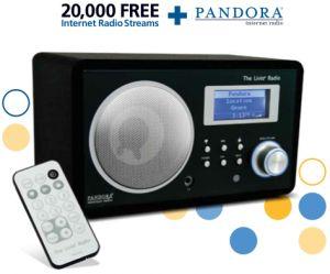 Livio Radio – Internet Radio Products for your Home and Car  |  The Livio Radio featuring Pandora – LV001B