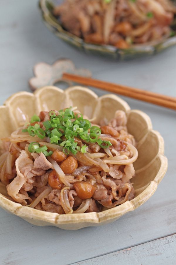 豚肉ともやしのなめこ炒め by 星野奈々子   レシピサイト「Nadia   ナディア」プロの料理を無料で検索
