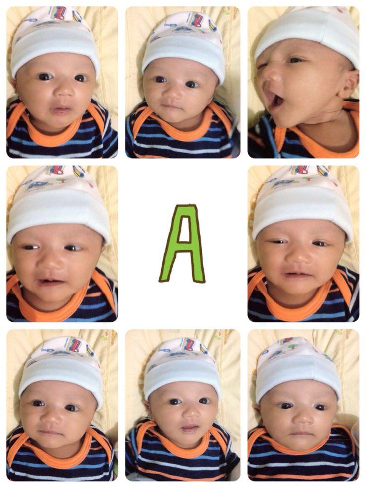 My cute baby 2 mos
