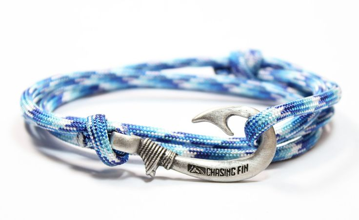 Artic Camo Fish Hook Bracelet (New) | Fish Hook Bracelets | Chasing Fin Apparel