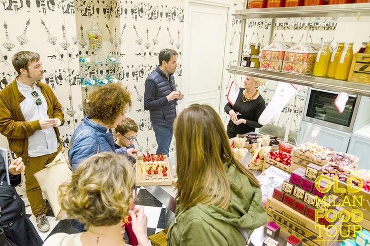 """""""Be corageous and enter a shop that attracts you, especially when it is already full of Italians."""""""