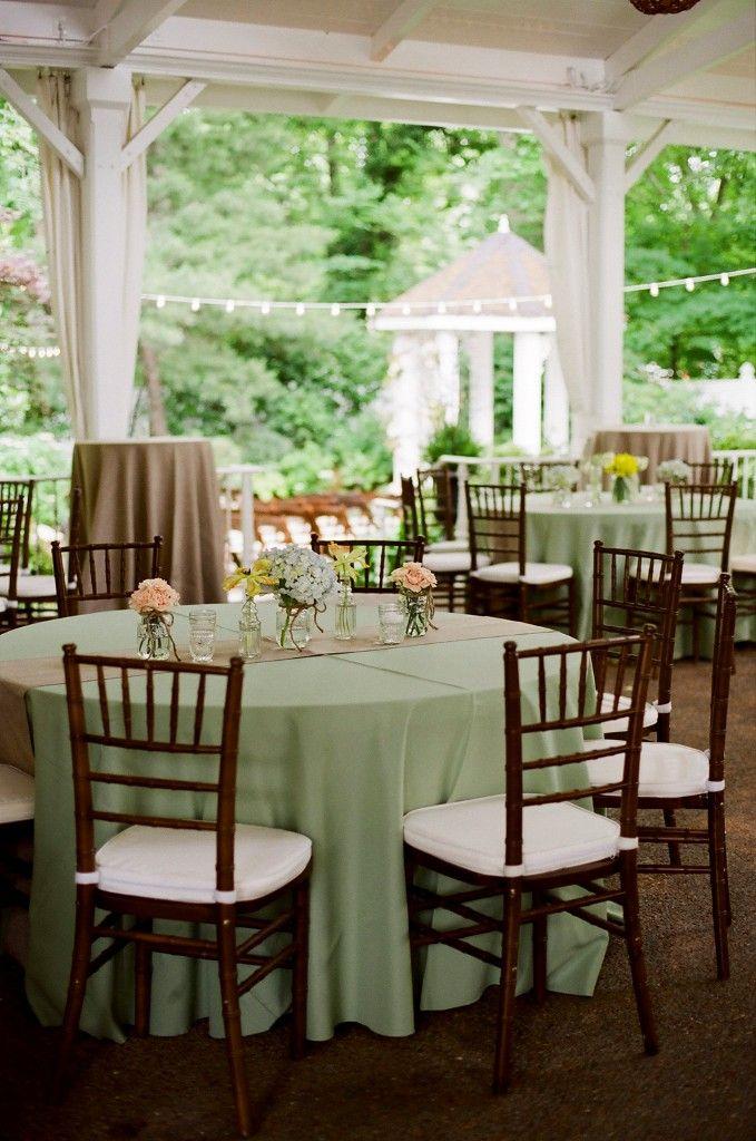 Garden Wedding | Southern Charm | #green #brown #chiavari | JHenderson Studios