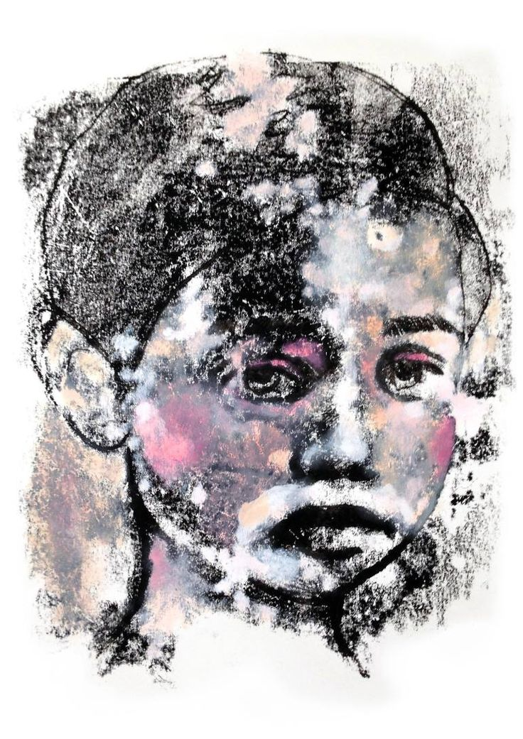 "Saatchi Art Artist Tanja Hirschfeld; Painting, ""Futureboy"" #art"