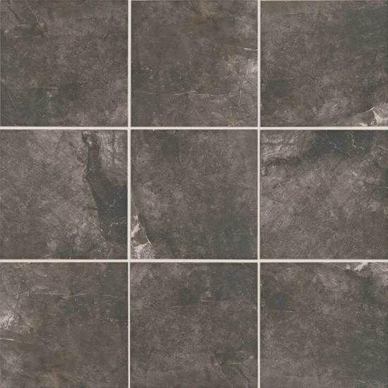 Master Bathroom Floor Tile American Olean Bevalo Porcelain Color Charcoal Bethany House