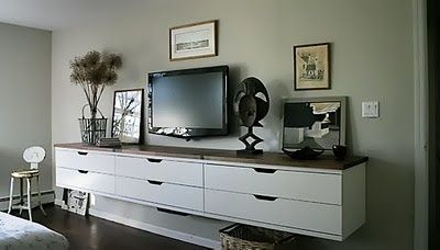 wall hung dresser our house renovation pinterest bending dressers and for the. Black Bedroom Furniture Sets. Home Design Ideas