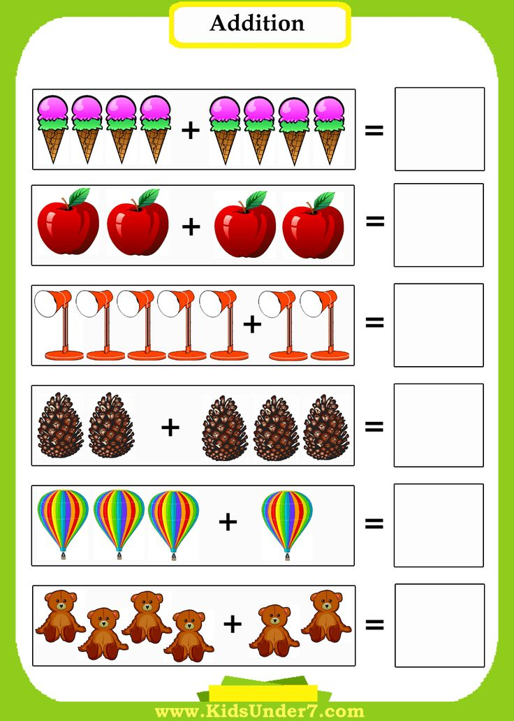 preschool math addition worksheets introduce preschoolers to math using pictures to count. Black Bedroom Furniture Sets. Home Design Ideas