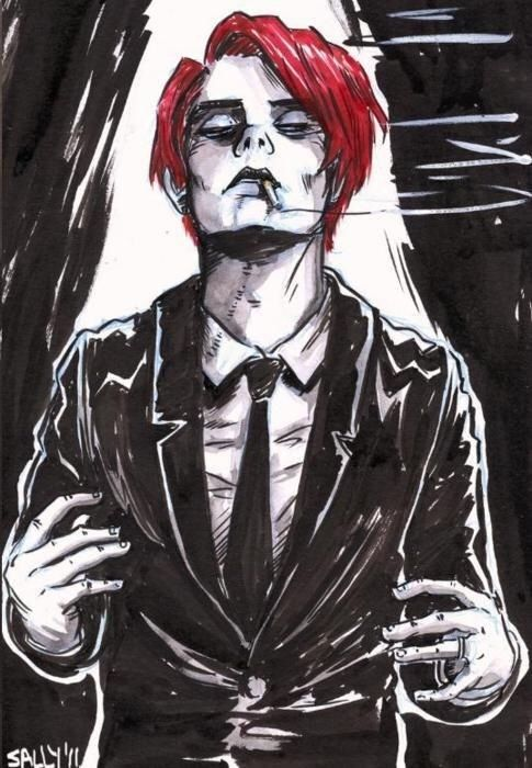 Gerard way art