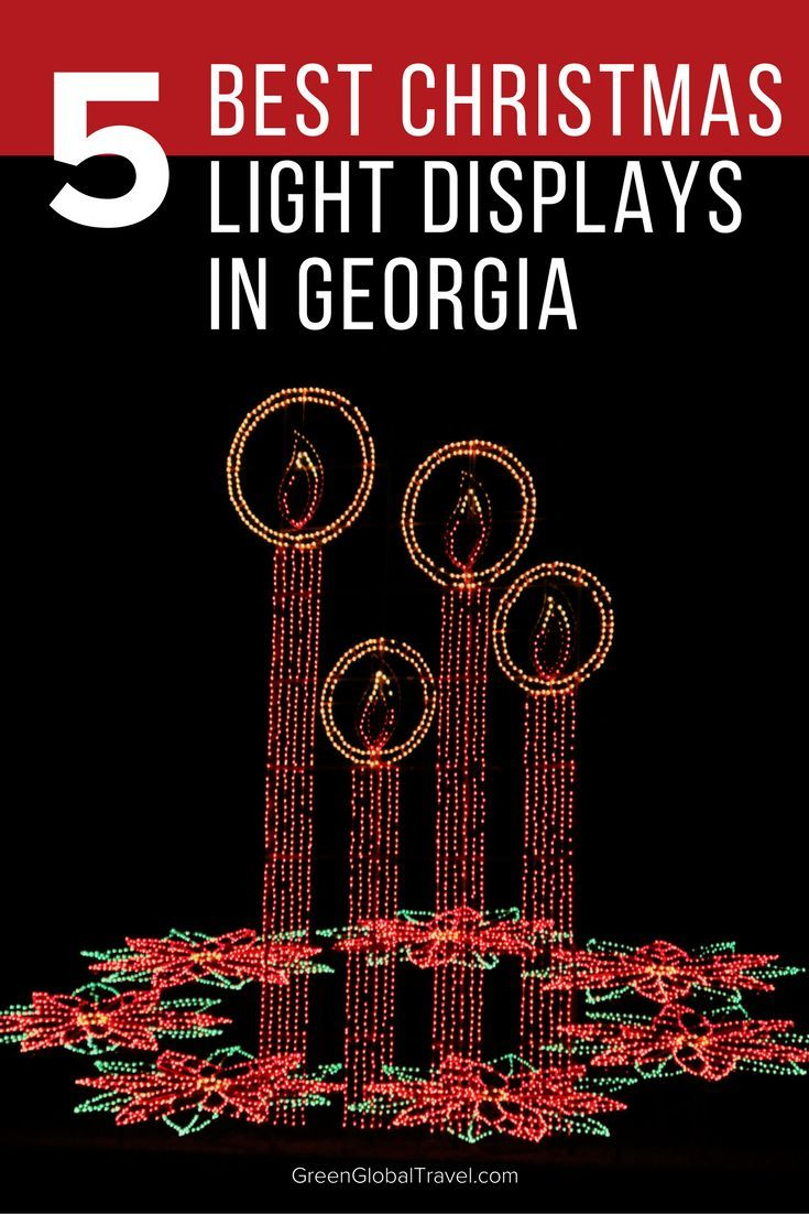Learn more about the top Christmas Light Displays in Georgia. This includes the Callaway Gardens, the Atlanta Botanical Garden, Centennial Olympic Park, Lake Lanier Islands, and Stone Mountain Park!