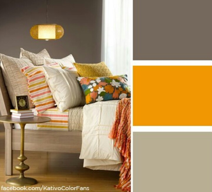 Brown And Yellow Bedroom Ideas: Brown And Mustard Yellow Living Room