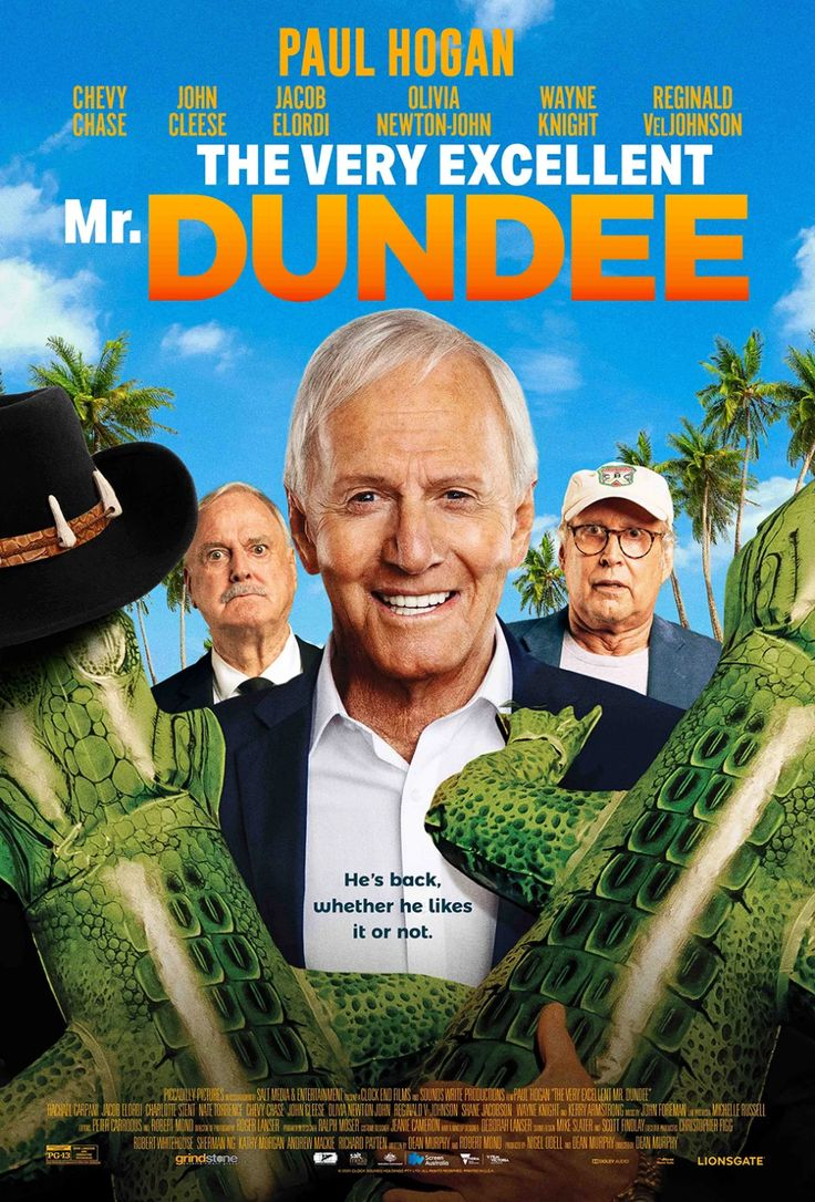 Crocodile Dundee S Paul Hogan Plays Himself In Wild Trailer For The Very Excellent Mr Dundee In 2021 Paul Hogan Dundee Crocodile Dundee