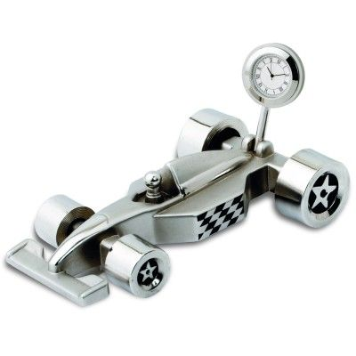 Racing Car with Clock. Giftwrapped offers you this desktop accessory with great customization options.  www.giftwrapped.in