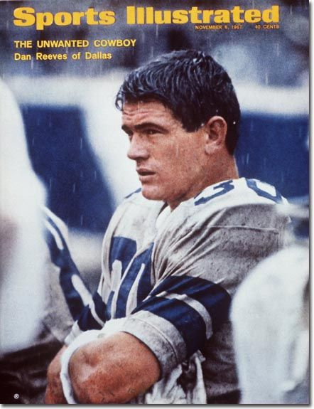 1970s Dallas Cowboy Players | On the Cover: Dan Reeves, Football, Dallas Cowboys