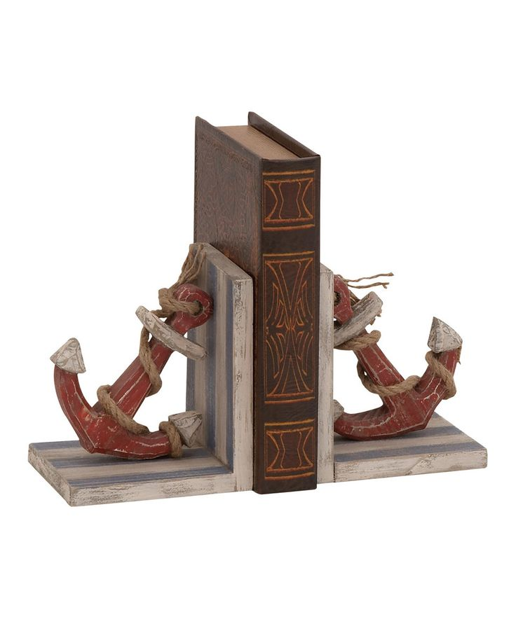 Loving this Anchor & Rope Bookends on #zulily! #zulilyfinds