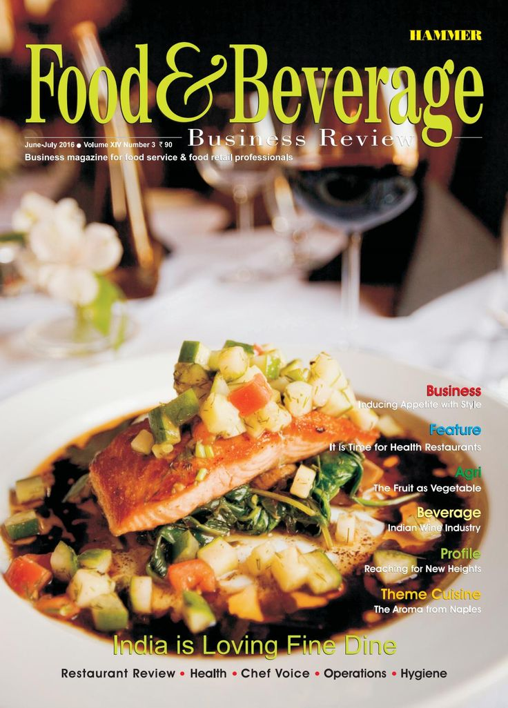 Food & Beverage Business Review ( Jun-July 2016)  In this issue, we have…