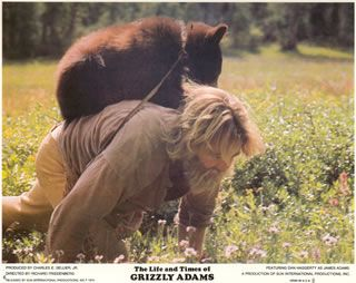 (The Life and Times of Grizzly Adams: Grizzly Adams & Grizzly Bear Cub Ben.
