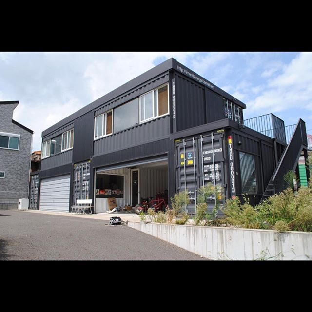 Houses Out Of Storage Containers 1287 best container houses images on pinterest | shipping
