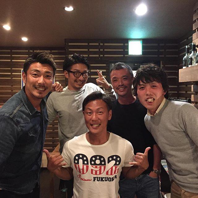 【yusuke_kunikata】さんのInstagramをピンしています。 《試合後の食事会。 #Jリーグ#cerezo#osaka#セレッソ大阪#桜#大阪#田代有三#19#soccer#サッカー#football#イケメン#復帰#お祝い#感謝#ありがとう#kobe#神戸#鉄板焼き#dinner#ディナー》