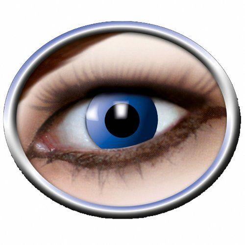 Eyecatcher Color Fun - farbige Kontaktlinsen - Blue Elfe / Blaue Elfe (1 x 2 St�ck)