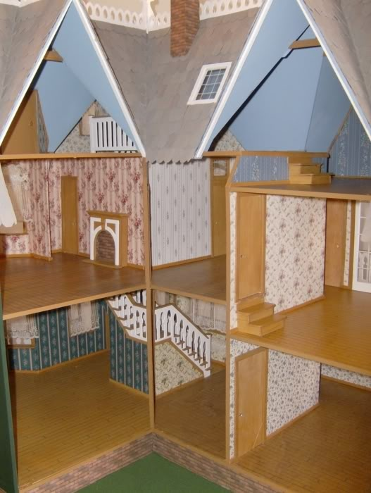 17 best images about doll house on pinterest miniature for Diy adobe house