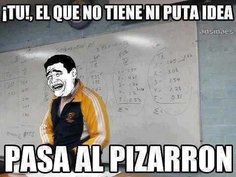 Memes Chistosos - Pasa al Pizarron!!