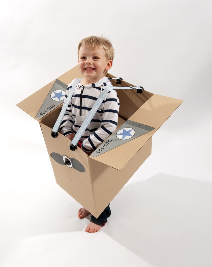 $19.95  Get more mileage out of empty cardboard boxes with Imaginabox®. /      Imaginabox® Aeroplane – the simple, but practical kit that turns any cardboard box into an aeroplane...zzzzzooom!