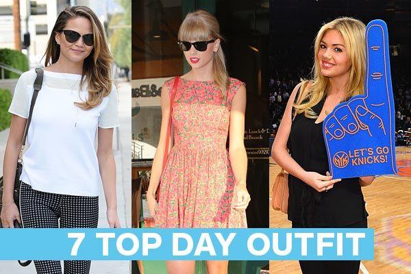 Outfit da giorno Primavera 2014 – 7 Look delle Star da copiare #day #outfit #style #fashion #celebrity